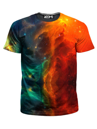iEDM - Fire and Ice Galaxy T-Shirt and Shorts Combo