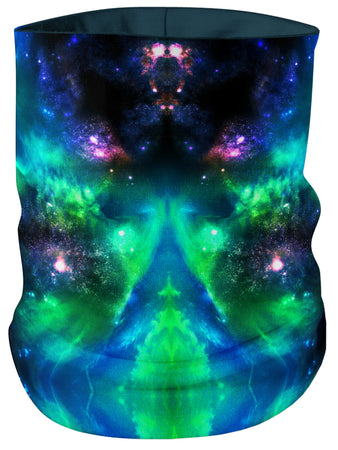 iEDM - Green Galaxy Bandana Mask