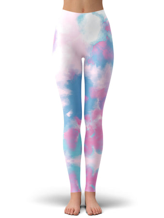 iEDM - Purple Dye Leggings