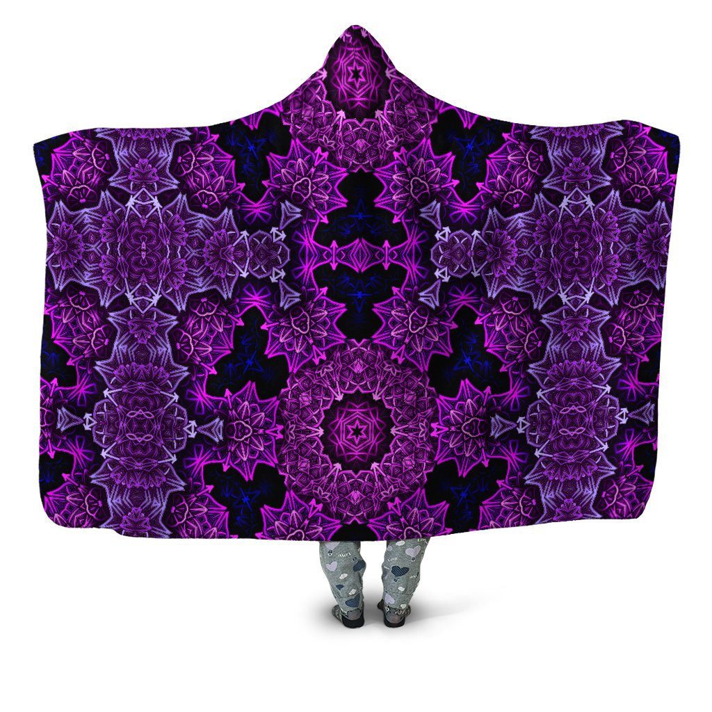 Jan Kruse Mainframe Hooded Blanket - iEDM
