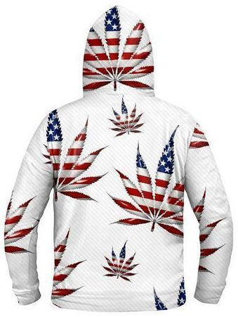 Light Up Hoodies - Legalize America Light Up Hoodie
