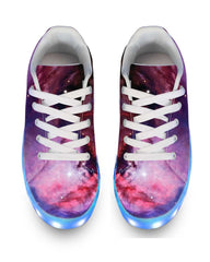 Light Up Shoes Nebula - APP Controlled Low Top LED Shoes - iEDM