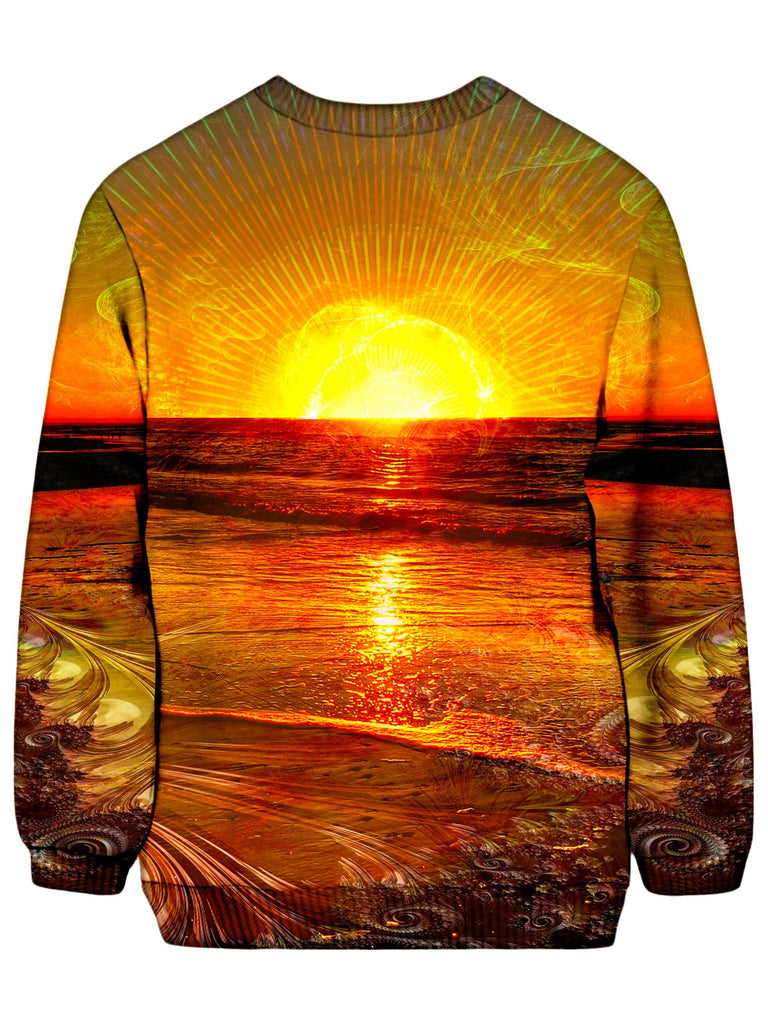 Lucid Eye Studios Fractal Sunset Sweatshirt