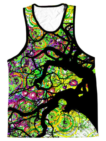 Lucid Eye Studios - Radial Roots Men's Tank