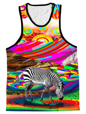 Lucid Eye Studios - Rainbow Land Men's Tank