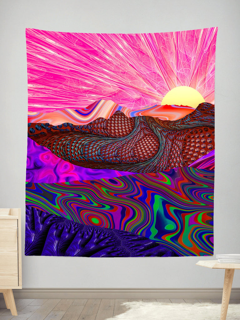 Lucid Eye Studios Trippy Trek Tapestry