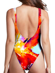 Marc Allante Hyperion High Cut One-Piece Swimsuit