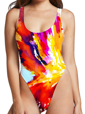 Marc Allante - Hyperion High Cut One-Piece Swimsuit
