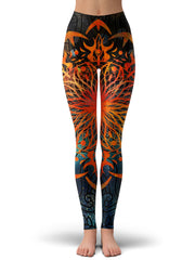 Maria Cobos Fire Ornament Leggings - iEDM