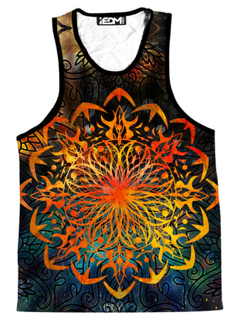 MCAshe Spiritual Art - Fire Ornament Men's Tank