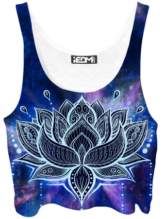 MCAshe Spiritual Art - Lotus Crop Top