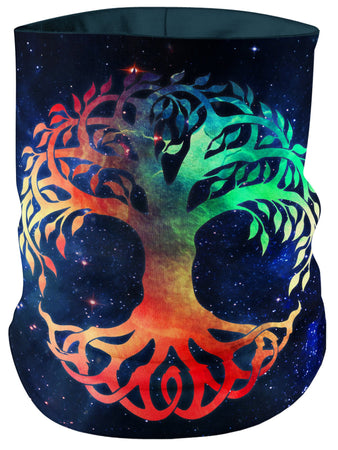 MCAshe Spiritual Art - Tree of Life Bandana Mask