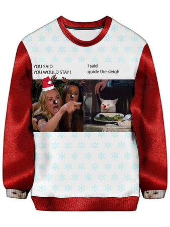 Noctum X Truth - Christmas is Ruined Ugly Christmas Sweatshirt
