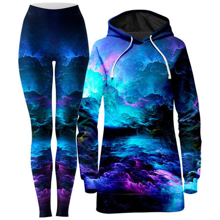 Noctum X Truth - Dream Waves Hoodie Dress and Leggings Combo