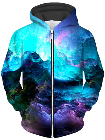 Noctum X Truth - Dream Waves Unisex Zip-Up Hoodie