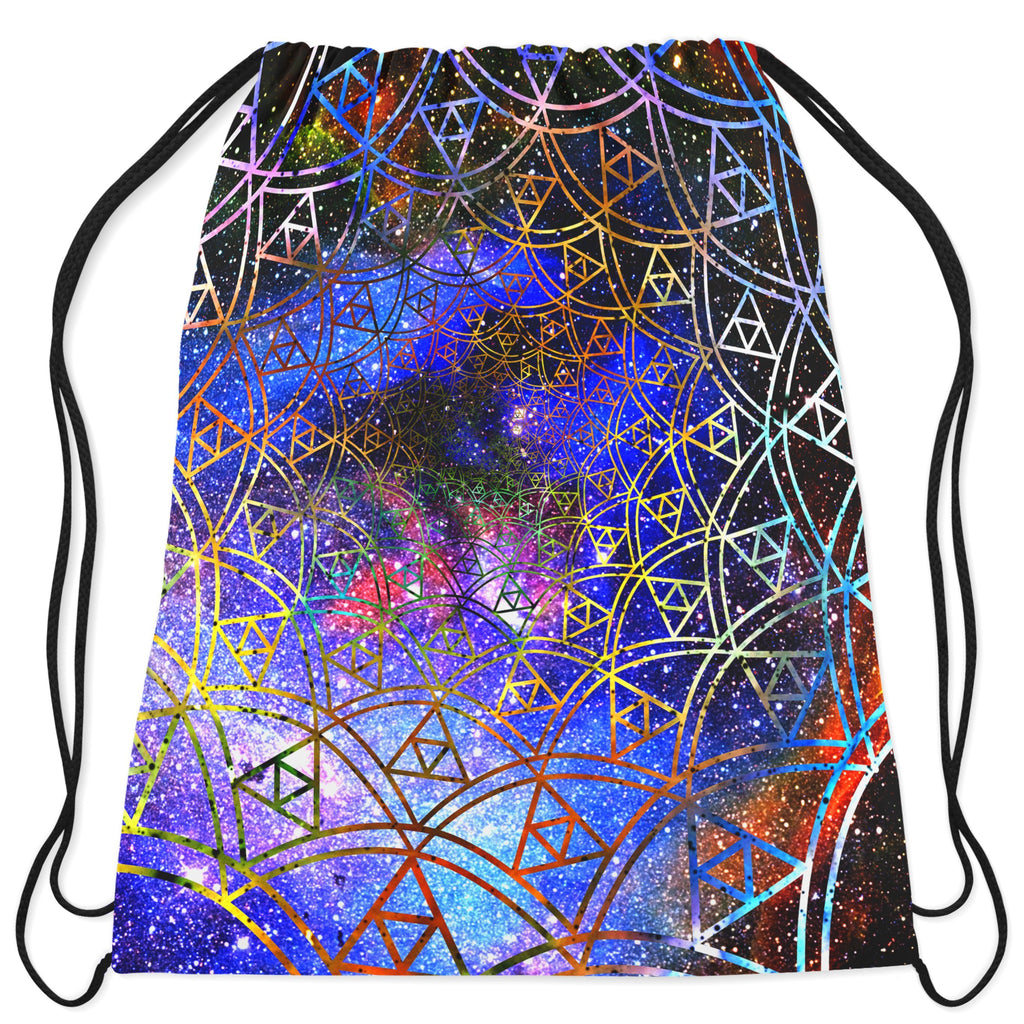 Noctum X Truth Fractal Drawstring Bag