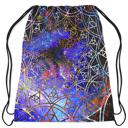 Noctum X Truth - Fractal Drawstring Bag