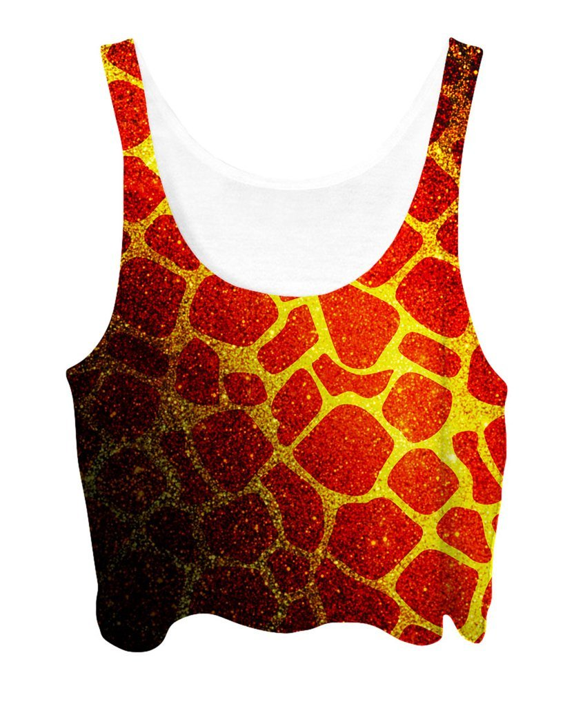 Noctum X Truth Golden Giraffe Crop Top - iEDM