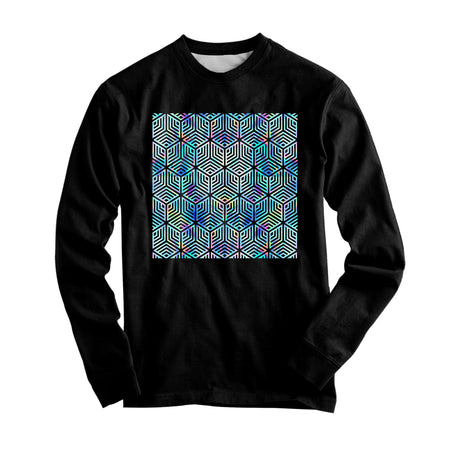 Noctum X Truth - Holographic Hexagon Graphic Long Sleeve