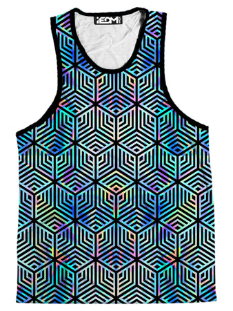 Noctum X Truth - Holographic Hexagon Men's Tank
