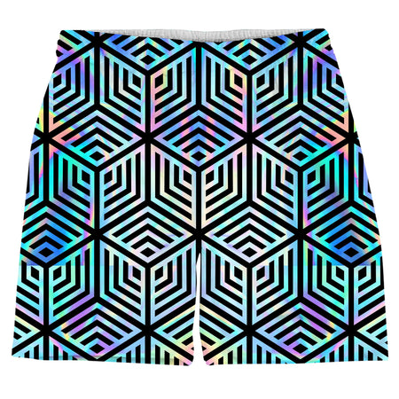 Noctum X Truth - Holographic Hexagon Weekend Shorts