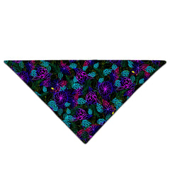 Noctum X Truth Light Night Floral Bandana - iEDM