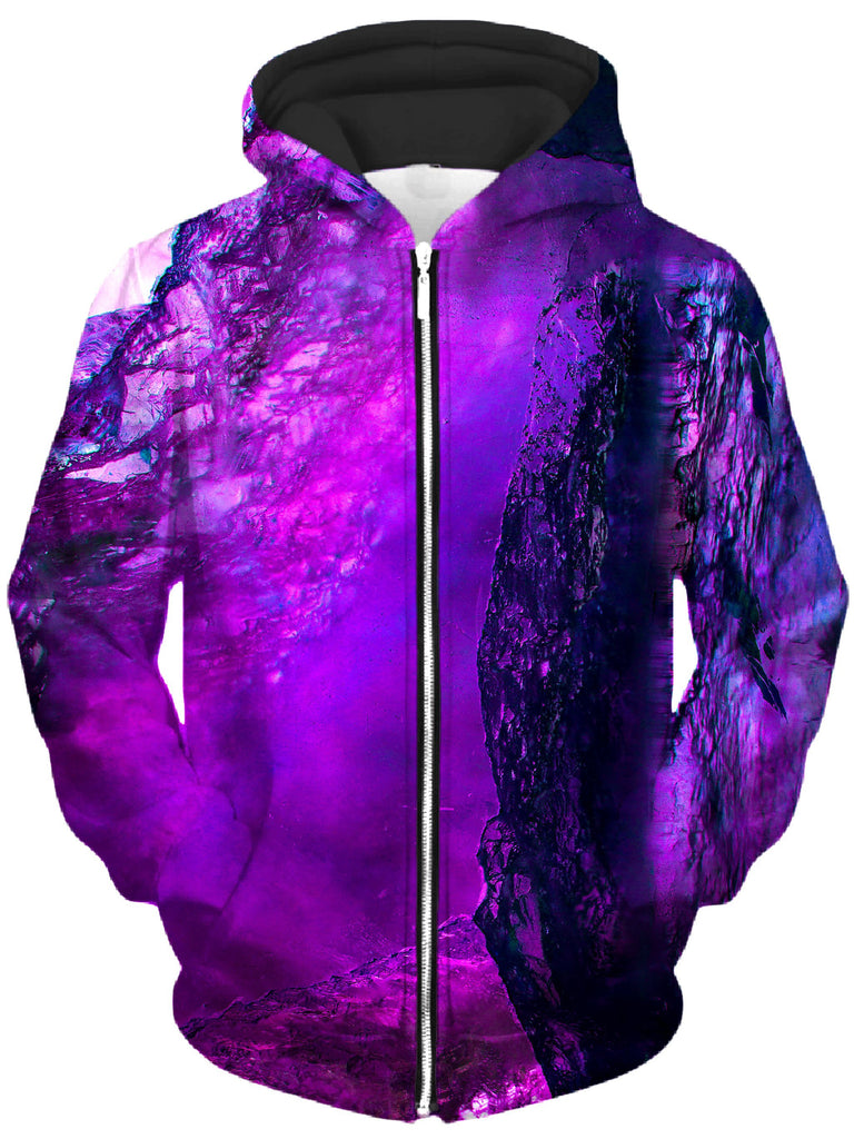 Noctum X Truth - Purple Phaze Unisex Zip-Up Hoodie
