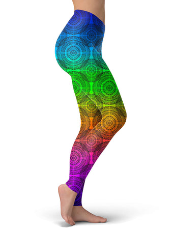 Noctum X Truth - Rainbow Mandala Leggings
