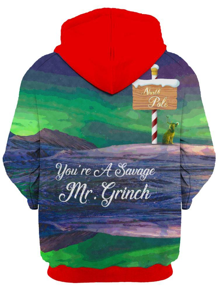Noctum X Truth Savage Grinch Unisex Hoodie - iEDM