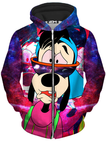 Noctum X Truth - Space Goof Trash Kid Unisex Zip-Up Hoodie
