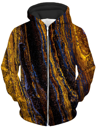 Noctum X Truth - Tiger's Eye Unisex Zip-Up Hoodie