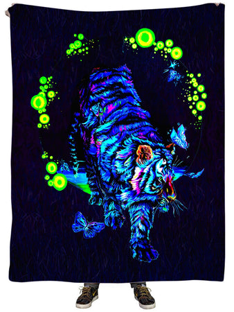 Noctum X Truth - Tigerlily Plush Blanket