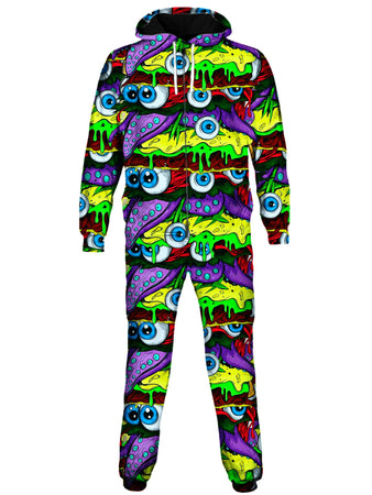 On Cue Apparel - Acid Burger Onesie