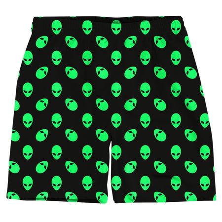 On Cue Apparel - Aliens Weekend Shorts (Ready To Ship)