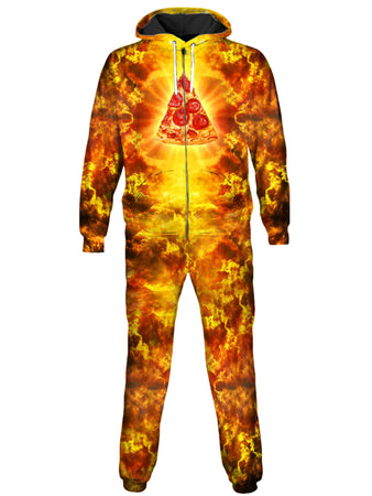 On Cue Apparel - Almighty Pizza Onesie