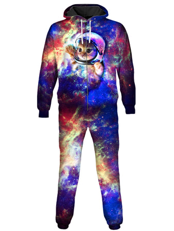 On Cue Apparel - Astrokitty Onesie