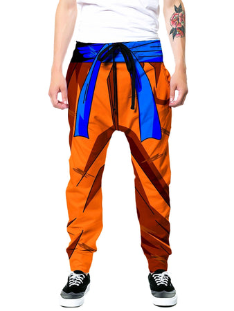 On Cue Apparel - Battle Armor Goku Joggers