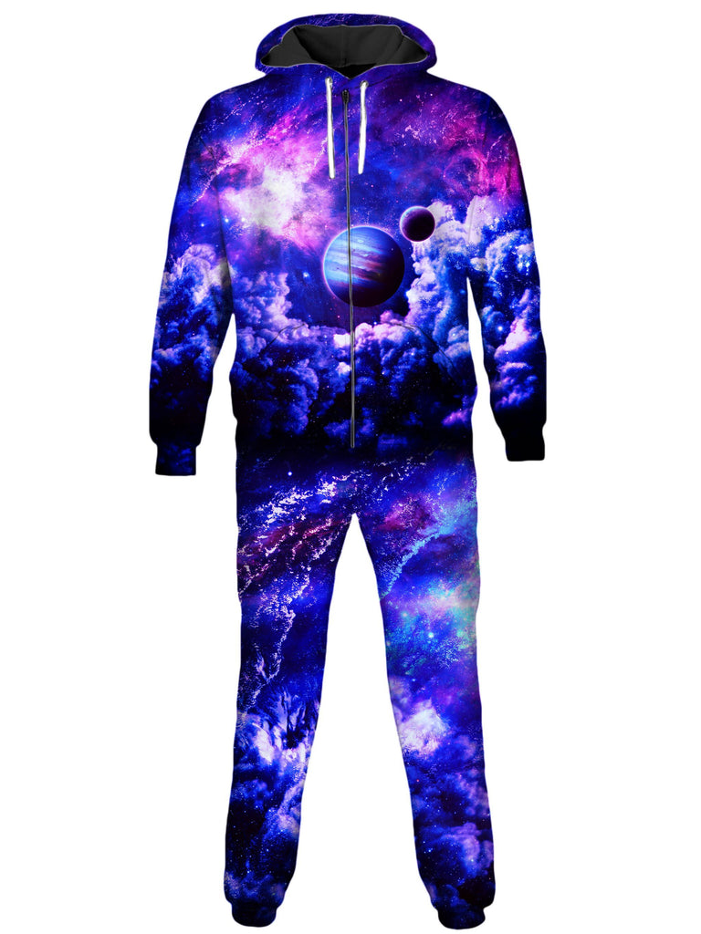 On Cue Apparel Blue Planet Onesie