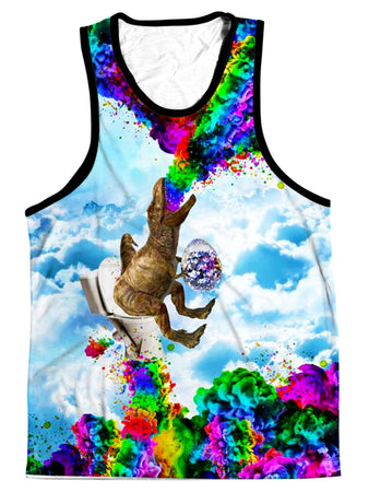 On Cue Apparel - Dino Shat Men's Tank