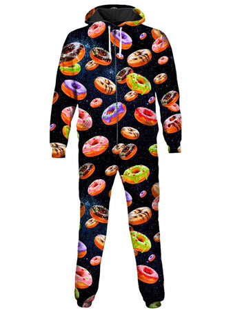 On Cue Apparel - Doughnut and Space Onesie