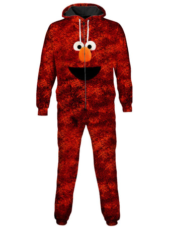 On Cue Apparel - Elmo Onesie