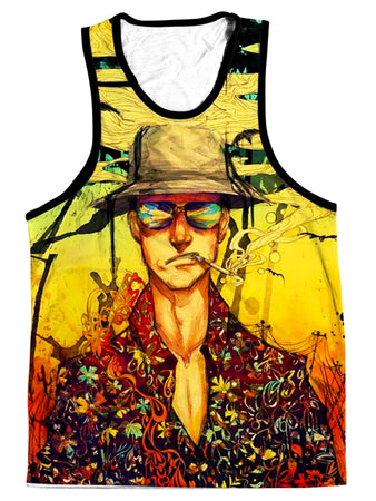 On Cue Apparel - Fear and Loathing Men's Tank