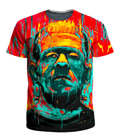 On Cue Apparel - Frankenstein Men's T-Shirt