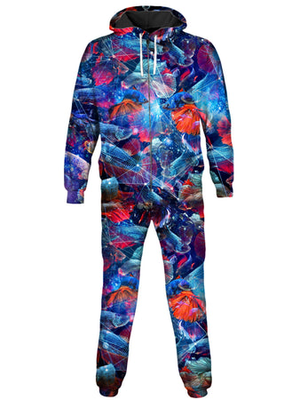 On Cue Apparel - Galactic Fish Onesie