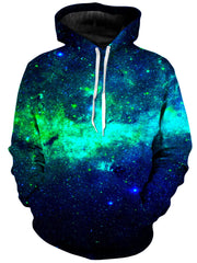 On Cue Apparel Green Galaxy Hoodie