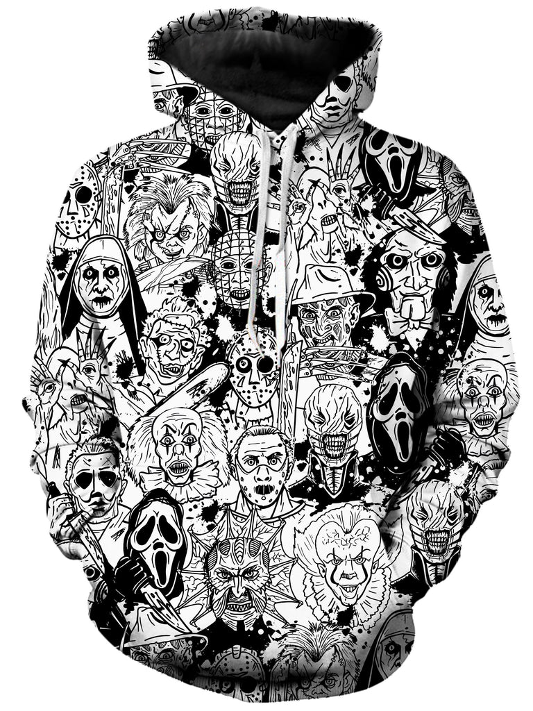 On Cue Apparel Horror Villains Hoodie