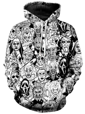 On Cue Apparel - Horror Villains Hoodie