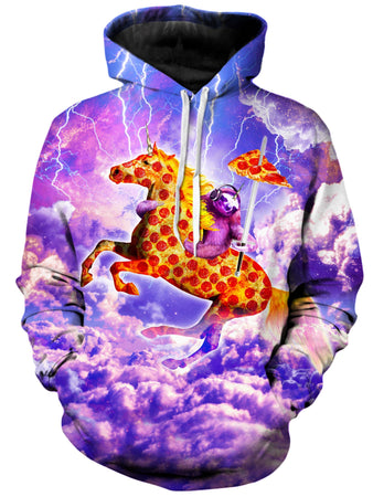 On Cue Apparel - Horse Pepperoni Hoodie