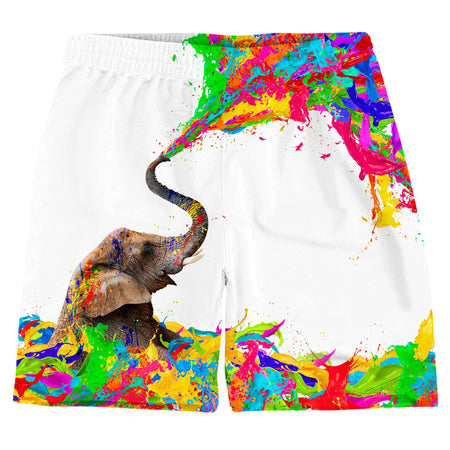 On Cue Apparel - Lucky Paint Weekend Shorts