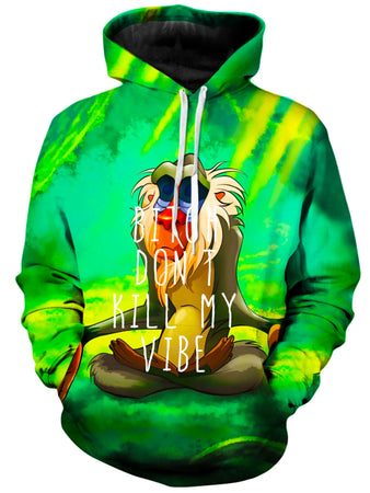 On Cue Apparel - Meditating Rafiki Hoodie